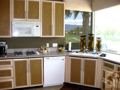 51 Augusta Drive Kitchen overlooks Fairway