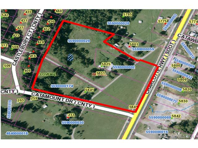 Land for Sale, ListingId:28993543, location: 5841 Charlotte Highway Lake Wylie 29710