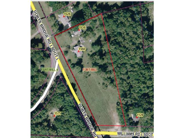Land for Sale, ListingId:28767372, location: 1536 Doby Bridge Road Ft Mill 29715