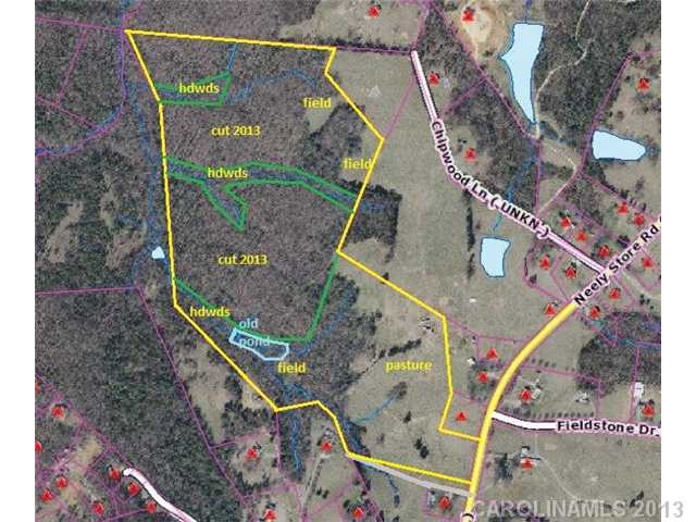 Land for Sale, ListingId:25448422, location: 70 Ac Neely Store Road Rock Hill 29730