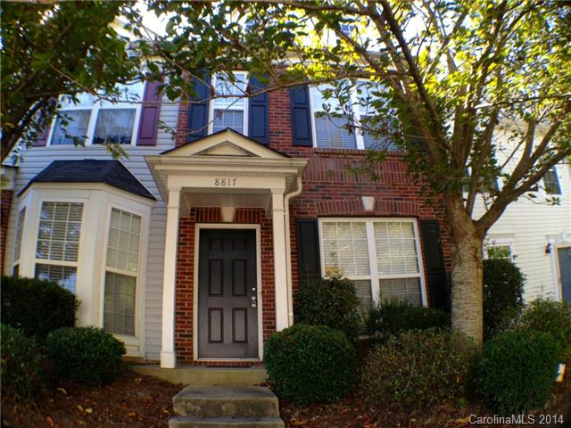 Single Family Home for Sale, ListingId:29046830, location: 8817 Gerren Court Unit#8817 Charlotte 28217