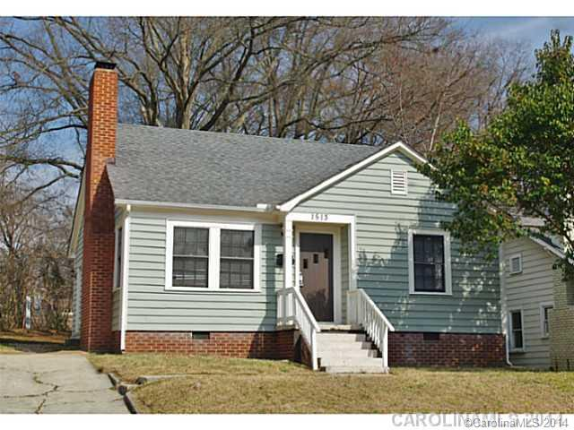 Rental Homes for Rent, ListingId:29023820, location: 1513 Belvedere Avenue Charlotte 28215