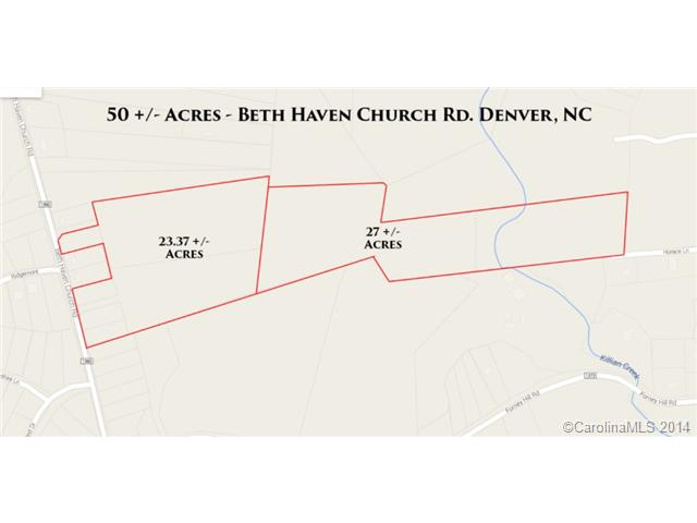 Land for Sale, ListingId:28889485, location: Lots Beth Haven Church Road Denver 28037